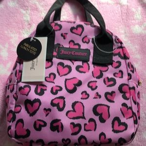 🧁🧁🧁NWT JUICY COUTURE LUNCH BAG 🧁🧁🧁